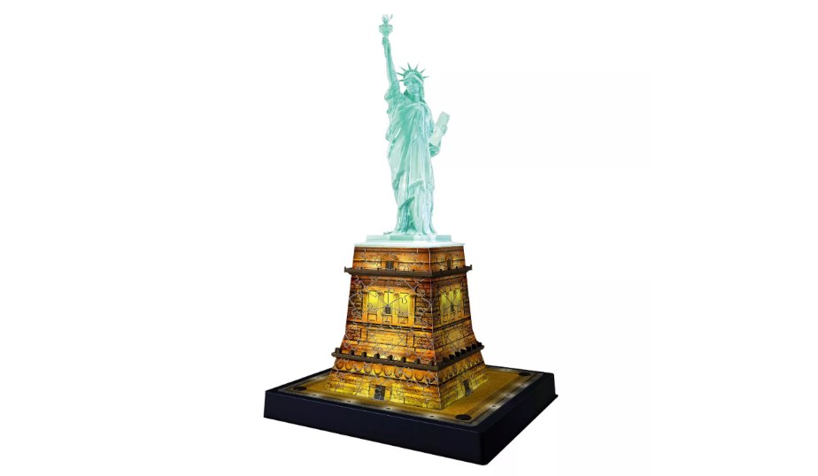 Statue of Liberty with 3D Puzzle — Ravensburger
