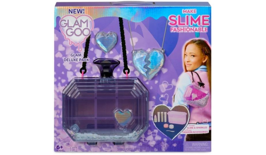 Glam Goo Deluxe Pack with Slime and Fashion Accessories by MGA
