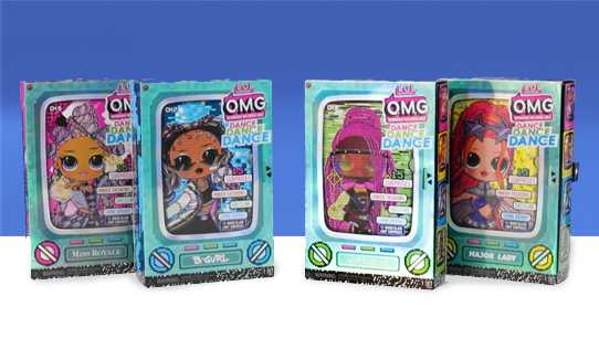 L.O.L. Surprise! O.M.G. Dance Dance Dance Dolls Toy Review