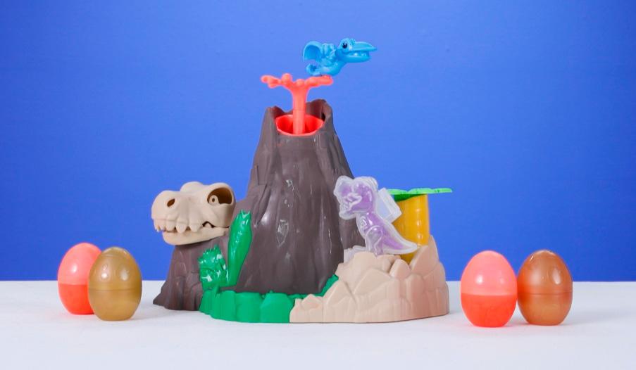 Play-Doh Dino Crew Lava Bones Island