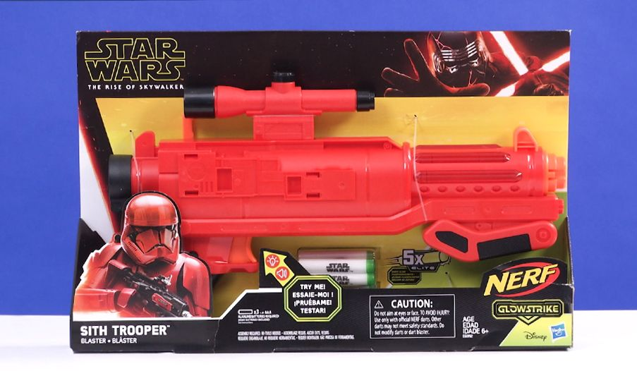 Nerf Star Wars Sith Trooper Blaster Review