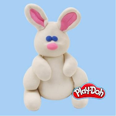 PlayDoh bunny