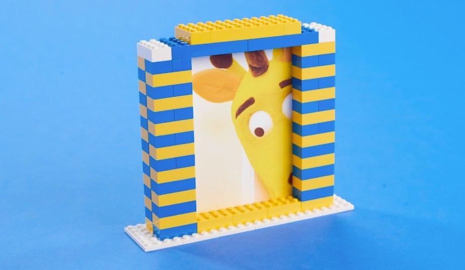 1 2x4 LEGO brick, 6 2x8 LEGO bricks, 2 2X4 LEGO bricks
