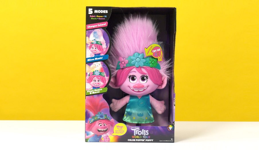 Trolls World Tour Color Poppin' Poppy Review