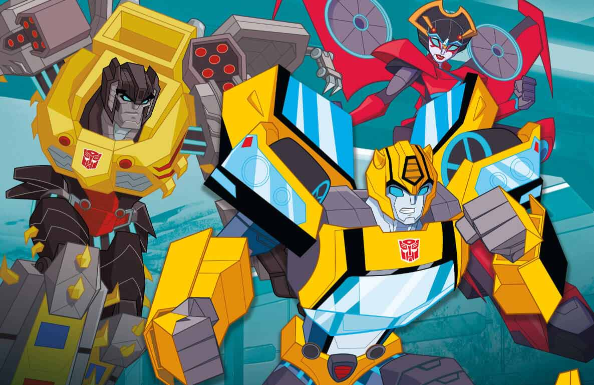 Transformers play, roll out!