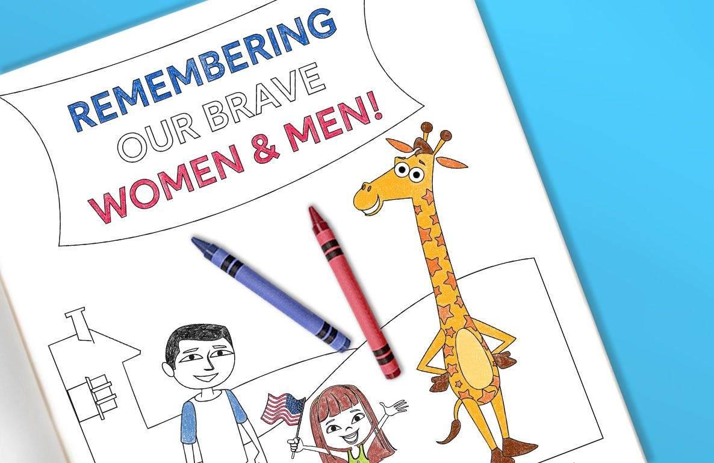 Memorial Day Coloring Sheet Printable Toys R Us