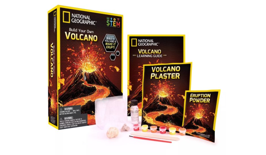 Volcano Science Kit — National Geographic