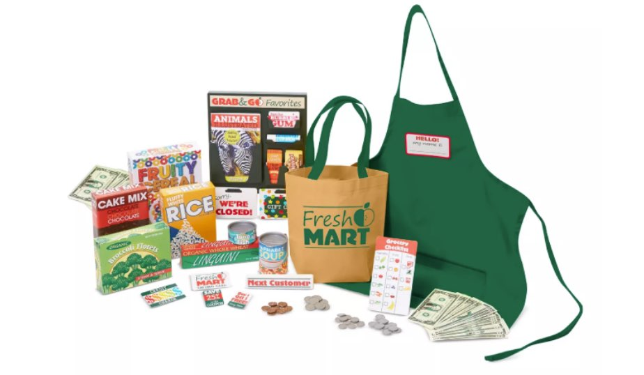 Fresh Mart Grocery Store Companion Collection — Melissa & Doug