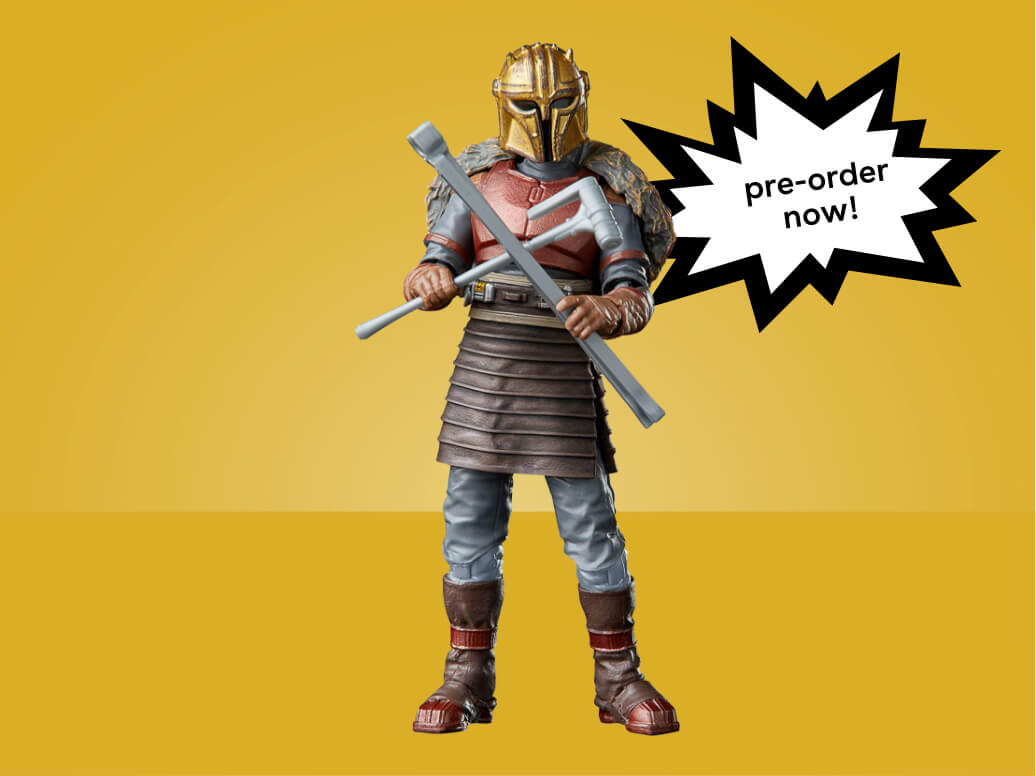 Star Wars The Vintage Collection The Armorer Toy, 3.75-Inch-Scale The Mandalorian Action Figure