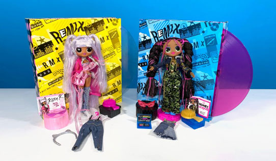 L.O.L. Surprise! O.M.G. Remix fashion dolls toy review