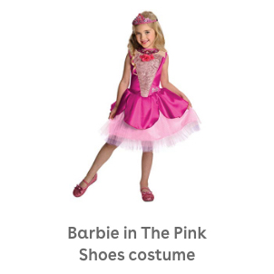 Barbie in The Pink Shoes Deluxe Kristyn Costume
