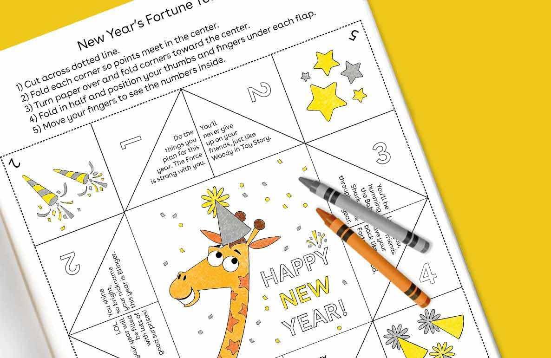 New Year's fortune teller