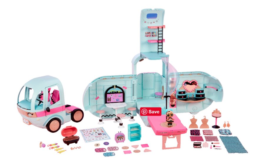 L.O.L. Surprise! 2-in-1 Glamper Fashion Camper by MGA