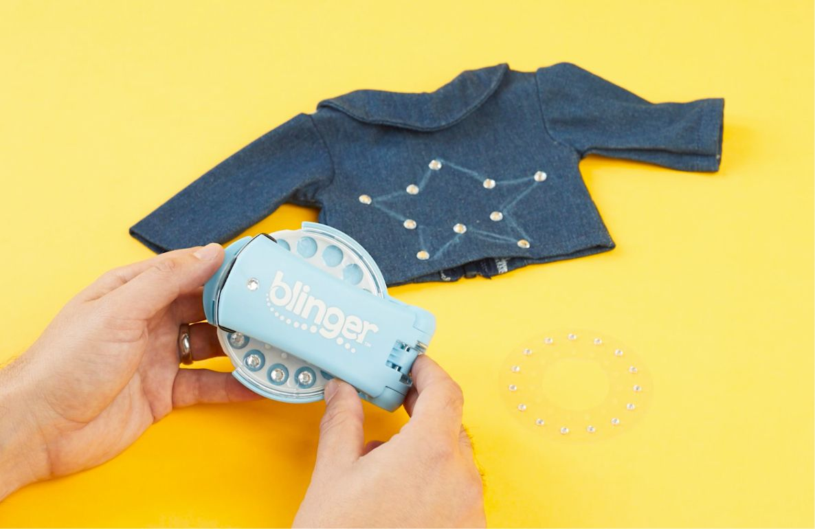 Blinger doll jean jacket