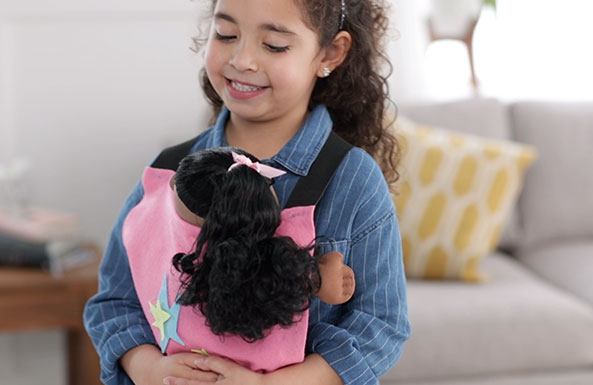 no-sew doll carrier