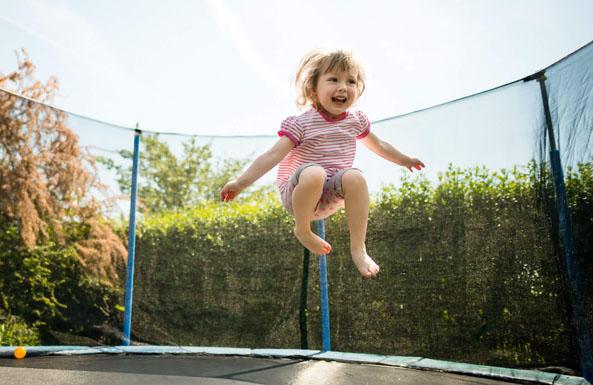 springin' for a trampoline