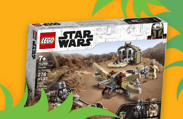LEGO Star Wars building sets