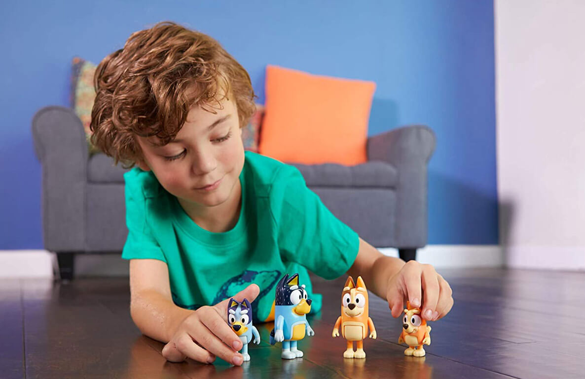 Bluey toys and playsets