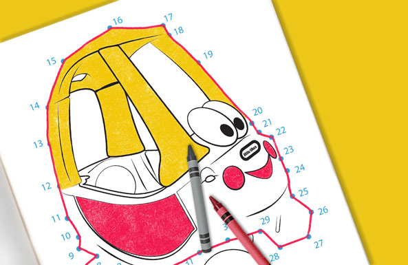 'Little Tikes Cozy Coupe Printables