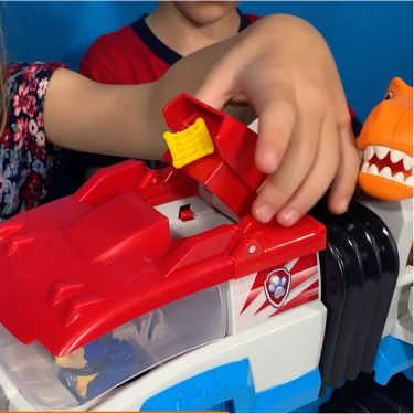projectile safety nets for PAW Patrol dino patroller playset