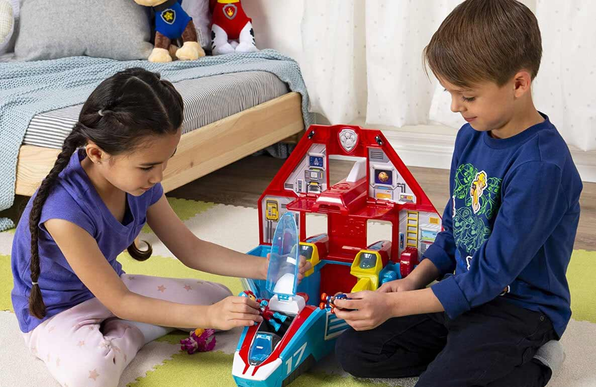 adventure is on the way with PAW Patrol play
