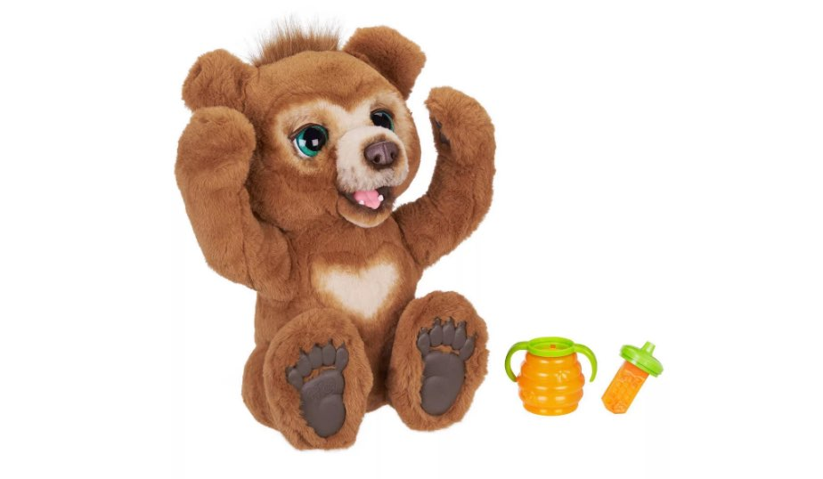 FurReal Cubby – The Curious Bear Interactive Plush Toy by Hasbro