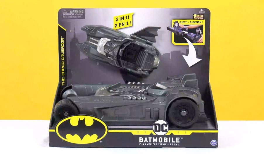 DC Batmobile Two in One Vehicle Review