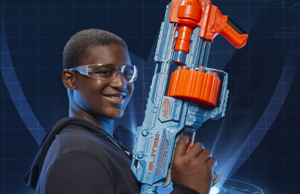 Nerf blasters that let fun seriously fly