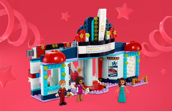 LEGO Friends Heartlake City Movie Theater