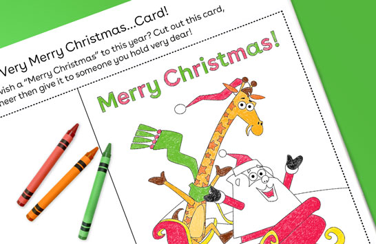 have a very merry christmas…card!