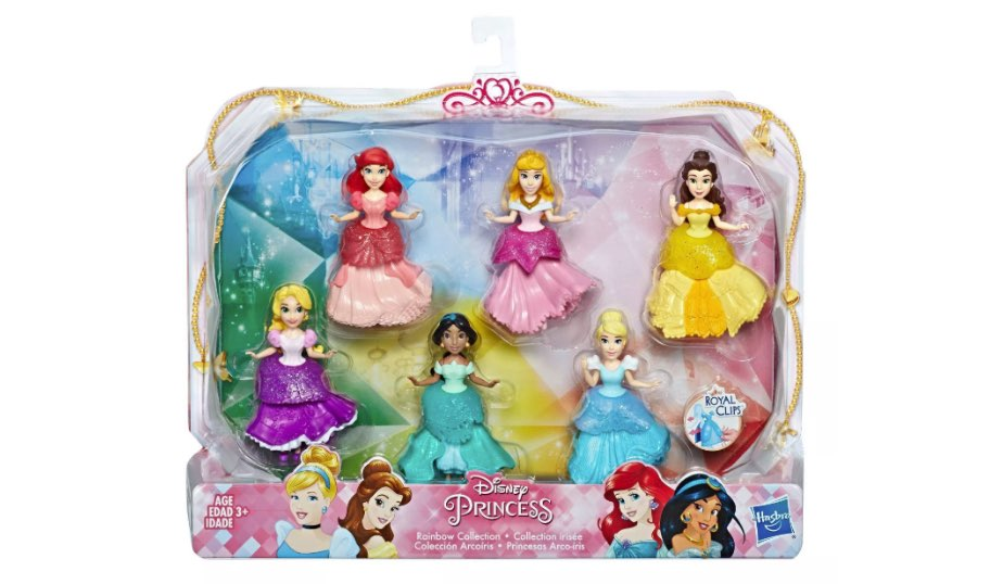 Disney Princess Rainbow Collection — Hasbro