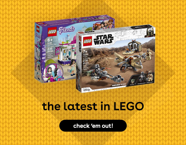 New LEGO sets for 2021 at Toys R Us