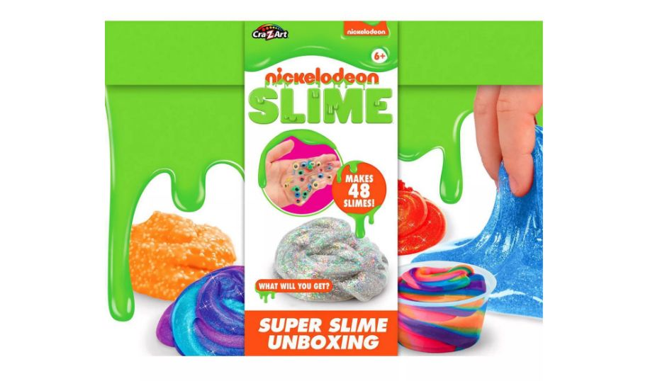 Nickelodeon Slime Super Slime Unboxing Kit