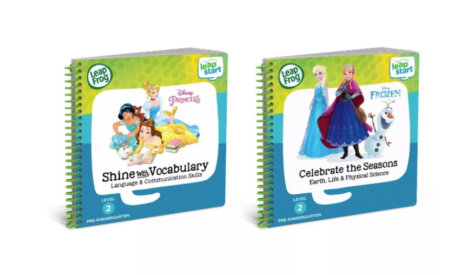 LeapStart 2 Book Combo: Shine With Vocabulary and Celebrate the Seasons — LeapFrog