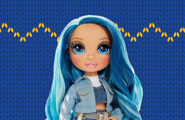 Rainbow High Fashion Doll - Skyler Bradshaw
