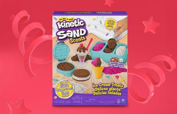 Kinetic Sand Scents Ice Cream Treats