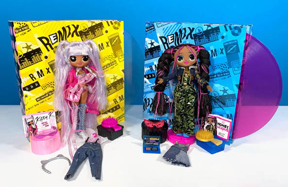 L.O.L. Surprise! O.M.G. Remix fashion dolls Review