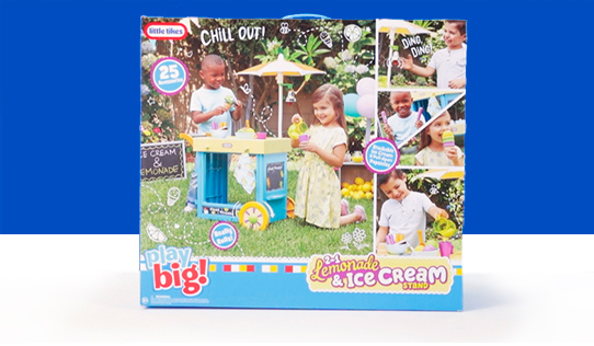 Little Tikes 2-in-1 Lemonade and Ice Cream Stand Review