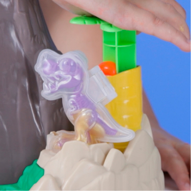 includes T-Rex mold