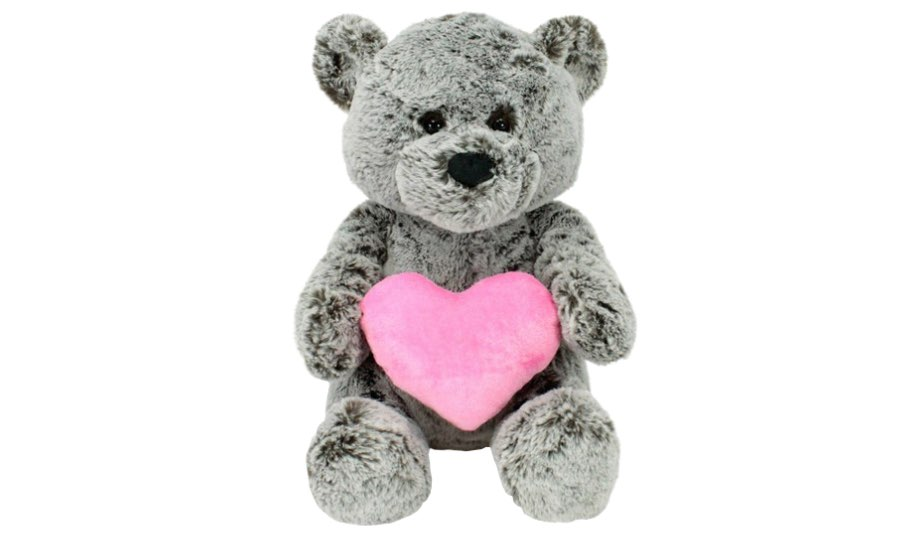 Brady Bear with Heart — Animal Adventure