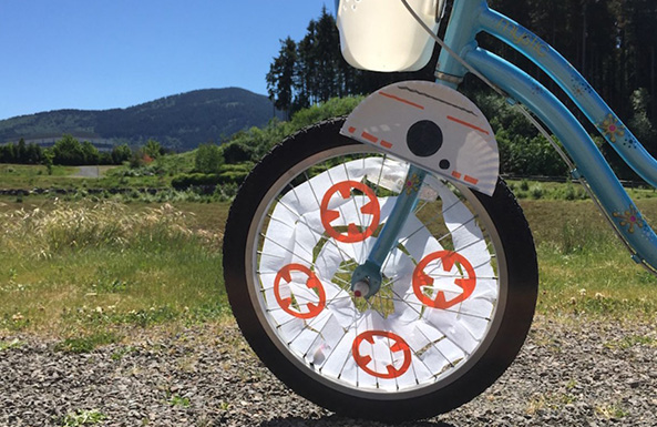 Star Wars DIY: Take BB-8 on your next bike ride!
