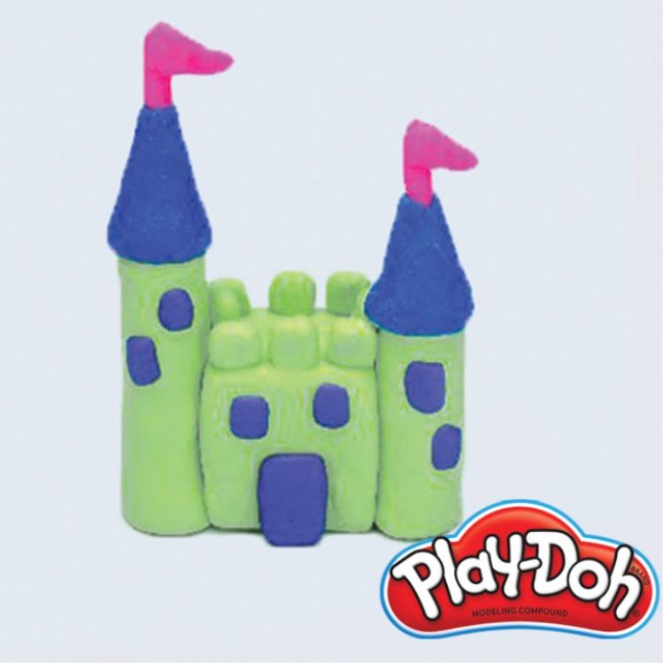 PlayDoh castle
