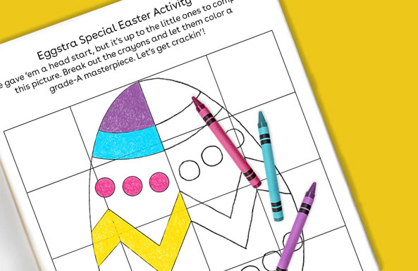 Eggstra Special Easter Activity  printable