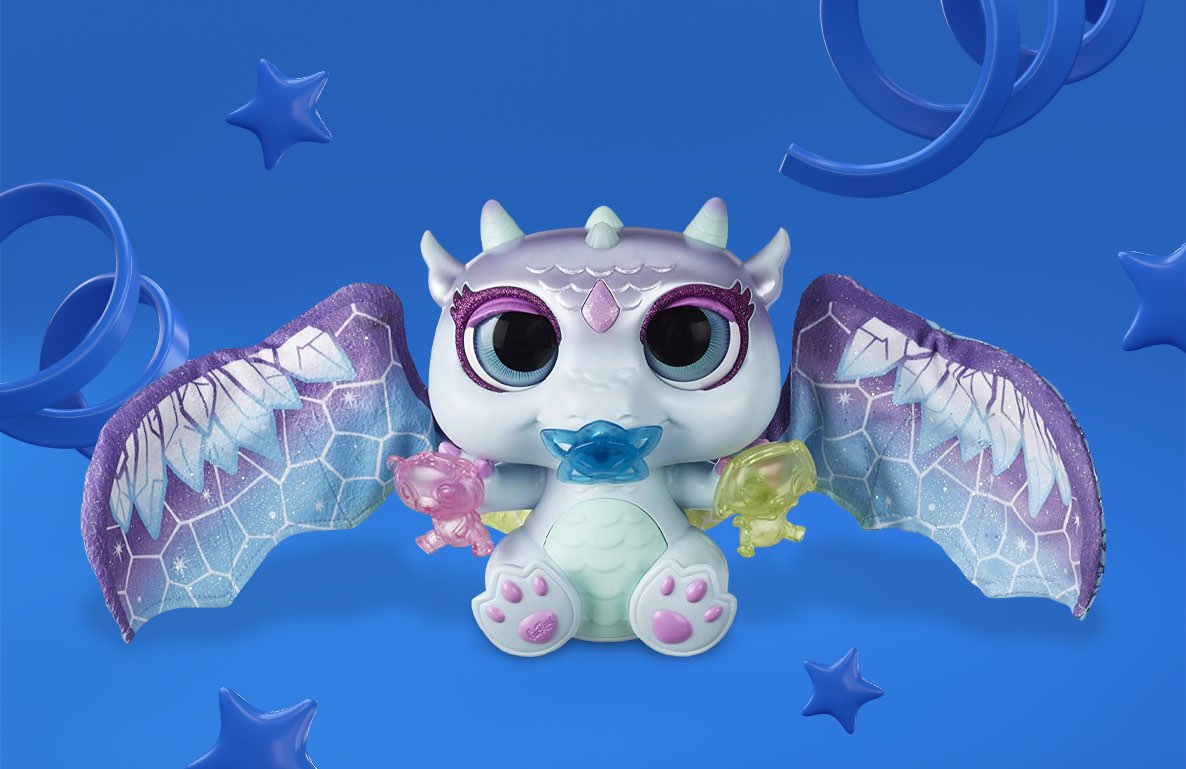 furReal Moodwings Snow Dragon