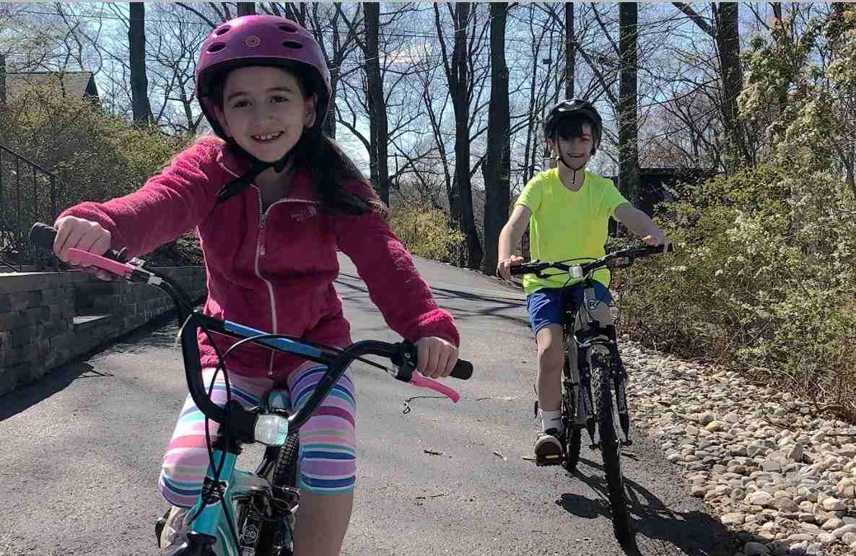 bike riding hand signals