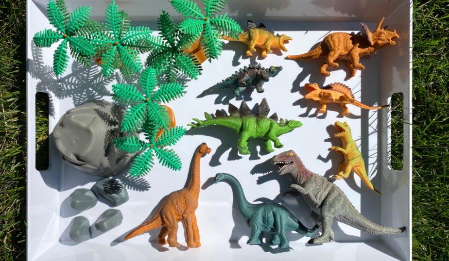 Animal Planet Dino Mega Tub Collection