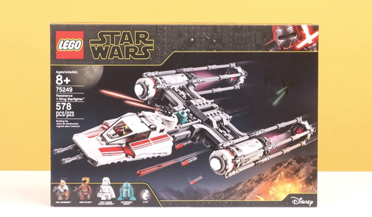 LEGO Star Wars Resistance Y-Wing Starfighter
