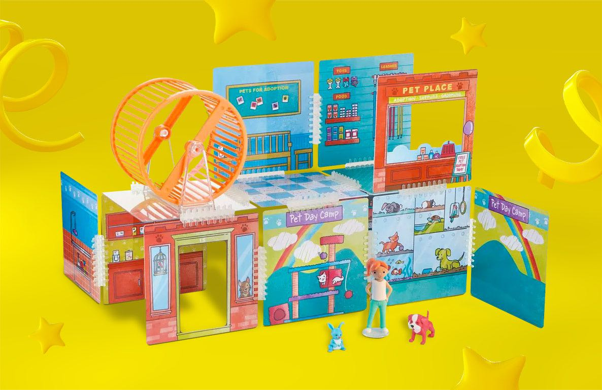 Wonderhood Pet Place Building Set