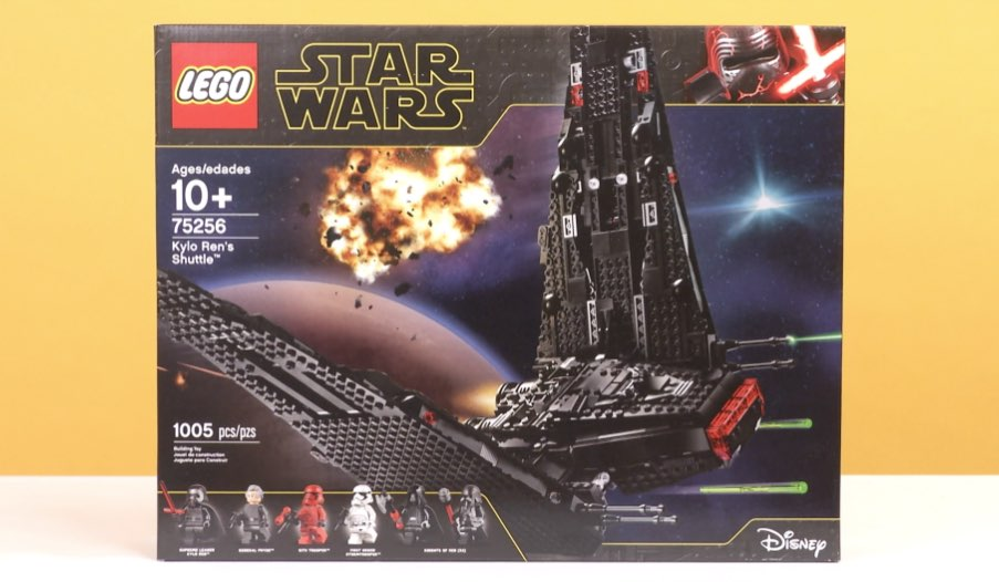 Lego Star Wars Kylo Ren S Shuttle Toy Review Toys R Us