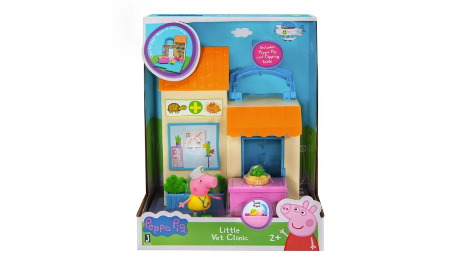 Peppa Pig Little Vet Clinic in box
